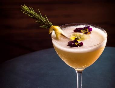 As Exhibit A, allow us to present the Rosemary Amaretti, a sweet and savory summer sipper that satisfies while it refreshes.