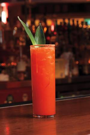 The Li Hing Mui margarita at Hussong's