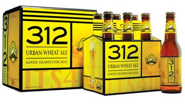 Reviewed: Goose Island's 312 Urban Pale and Urban Wheat ales.