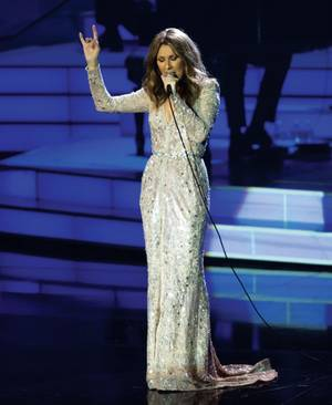 Celine the queen: Dion started the modern Vegas residency boom in 2003 at the Colosseum.