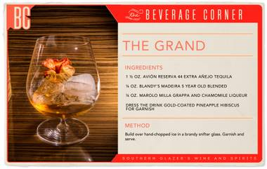 There are very few cocktails that can compare to The Grand — this libation is truly in a league of its own.