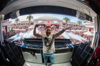 David Guetta at Encore Beach Club, Virgil Abloh at XS and more big shows this week