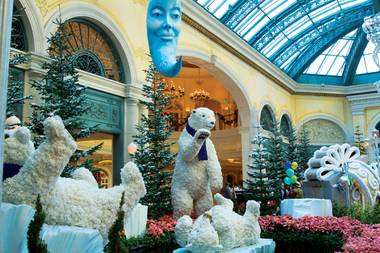 Bellagio's Conservatory, the Spring Mountains Visitor Gateway and more.