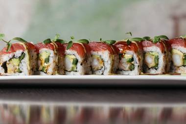 Sake Rok, located in the Park, is a 13,000-square-foot hot spot that just happens to serve some of the best sushi in town.