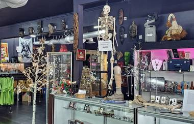"Visit a self-described ""store for weirdos and witches."""