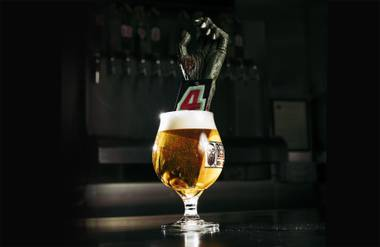 Beer Zombies' taps are a thing of beauty.