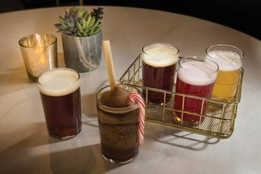 You can try some of the brewery's more eclectic offerings, including the surprisingly quaffable Scorpion malt liquor and the NoMad Restaurant collaboration Belgian brown ale ¡A Ganar, A Ganar!.