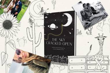 Titled The Sky Cracked Open, it's a fun and uplifting collection, and she made it while battling cystic fibrosis.