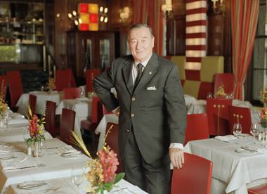 The famed restaurateur passed away this week in Italy at the age of 88.