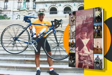 The self-published Bicycle Man: Life of Journeys allows avid readers to plow from beginning to end, and casual ones to sample stand-alone stories.