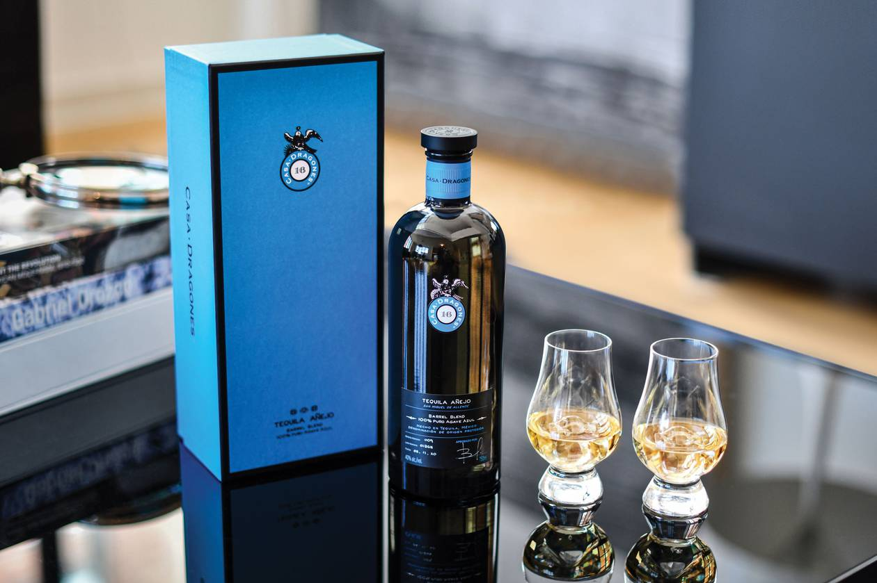 "The producer has brought to market three styles of tequila: Casa Dragones Blanco, Casa Dragones Joven and the recently debuted Casa Dragones' ""blue label"" Añejo Barrel Blend."