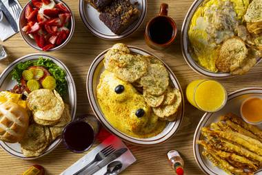 Omelet House has been serving up memorably huge portions of breakfast favorites to a wide array of the city's movers and shakers since 1979.